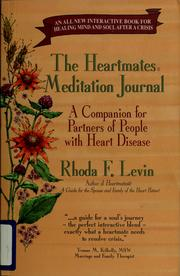Cover of: The Heartmates meditation journal by Rhoda F. Levin