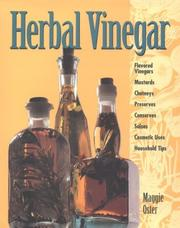 Cover of: Herbal vinegar by Maggie Oster