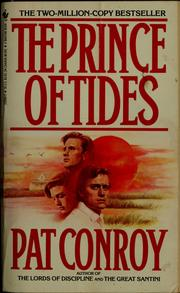 Cover of: The prince of tides | Pat Conroy