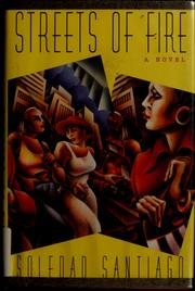 Cover of: Streets of fire | Soledad Santiago