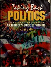Cover of: Taking back politics | Cathy Allen