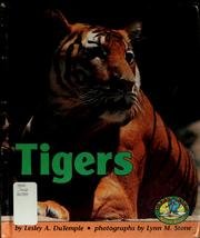 Cover of: Tigers | Lesley A. DuTemple