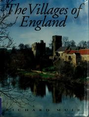Cover of: The villages of England | Richard Muir
