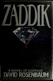 Cover of: Zaddik | David Rosenbaum