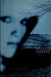 Cover of: After you'd gone | Maggie O'Farrell