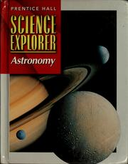 Cover of: Astronomy | Michael J. Padilla