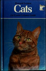 Cover of: Cats by Howard Loxton
