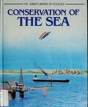 Cover of: Conservation of the sea | Rosa Costa-Pau
