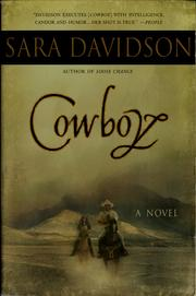 Cover of: Cowboy by Sara Davidson