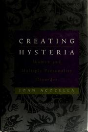 Cover of: Creating hysteria | Joan Ross Acocella