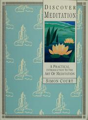Cover of: Discover meditation | Simon Court