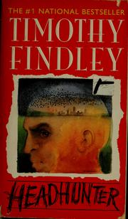 Cover of: Headhunter | Timothy Findley