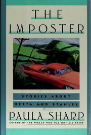 Cover of: The imposter | Paula Sharp