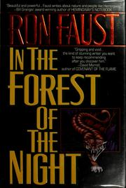Cover of: In the forest of the night | Ron Faust