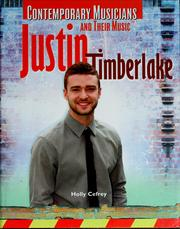 Cover of: Justin Timberlake | Holly Cefrey
