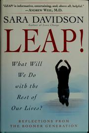 Cover of: Leap! by Sara Davidson