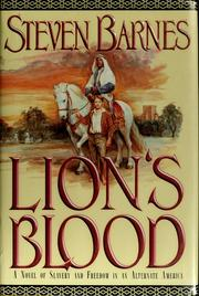 Cover of: Lion's blood | Steven Barnes