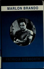 Cover of: Marlon Brando by Patricia Bosworth