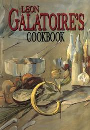 Cover of: Galatoire's cookbook by Leon Galatoire