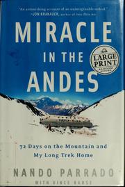 Miracle in the Andes | Open Library