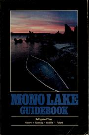 Cover of: Mono Lake guidebook | David Gaines
