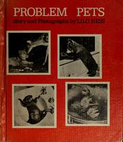 Cover of: Problem pets | Lilo Hess