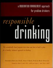 Cover of: Responsible drinking | Frederick Rotgers