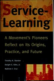 Cover of: Service-learning | Timothy Stanton