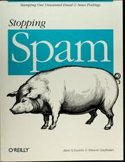Cover of: Stopping spam | Schwartz, Alan