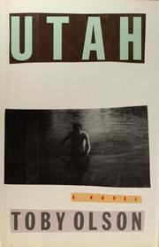 Cover of: Utah | Toby Olson