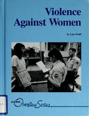Cover of: Violence against women | Lisa Wolff