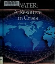 Cover of: Water | Eileen Lucas
