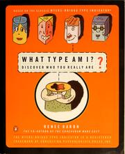 Cover of: What type am I? | Renee Baron