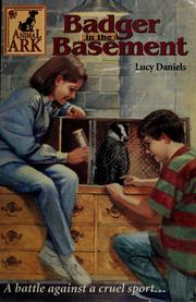 Cover of: Badger in the basement | Lucy Daniels
