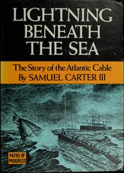 Cover of: Lightning beneath the sea | Samuel Carter