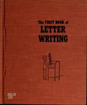 Cover of: The first book of letter writing | Helen Jacobson