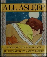 Cover of: All asleep | Charlotte Pomerantz