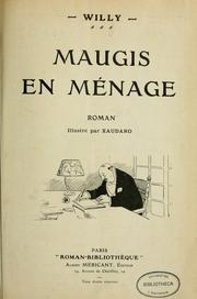 Cover of: Maugis en ménage | Henry Gauthier-Villars