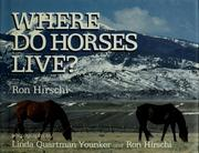 Cover of: Where do horses live? | Ron Hirschi