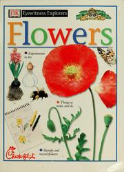 Cover of: Flowers | David Burnie