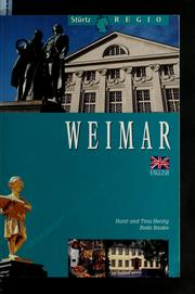 Cover of: Weimar by Bodo Baake
