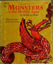 Cover of: Monsters of the middle ages by William Wise