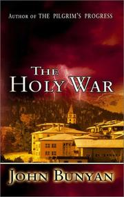 Cover of: The holy war by John Bunyan