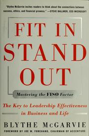 Cover of: Fit in, stand out | Blythe J. McGarvie