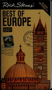 Cover of: Rick Steves' Best of Europe, 2001 | Rick Steves