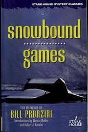 Cover of: Snowbound by Bill Pronzini