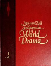 McGraw-Hill Encyclopedia of World Drama