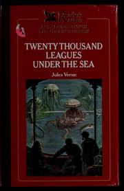 Cover of: Twenty thousand leagues under the sea | Jules Verne