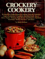 Cover of: Mable Hoffman's complete crockery cookery by Mable Hoffman