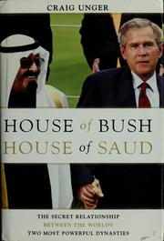 Cover of: House of Bush, house of Saud | Craig Unger